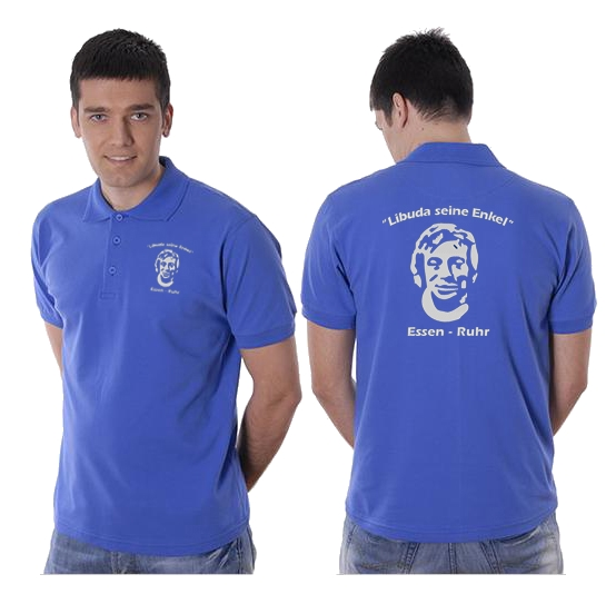 Poloshirt, royal